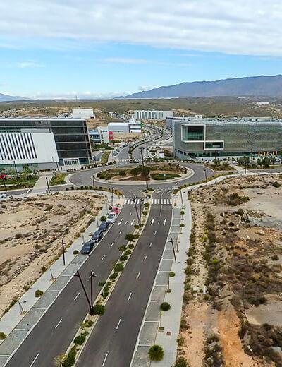 Vista aérea del Parque