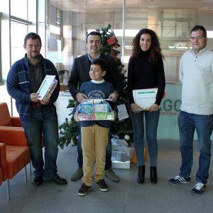 Ganadores Concurso Postal Navidad