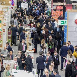 FRUIT LOGISTICA 2017 - Blick in Halle 18 - FRUIT LOGISTICA 2017 - View into hall 18 -