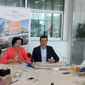 Gracia Fernandez y Antonio Domene, presentacion balance anual