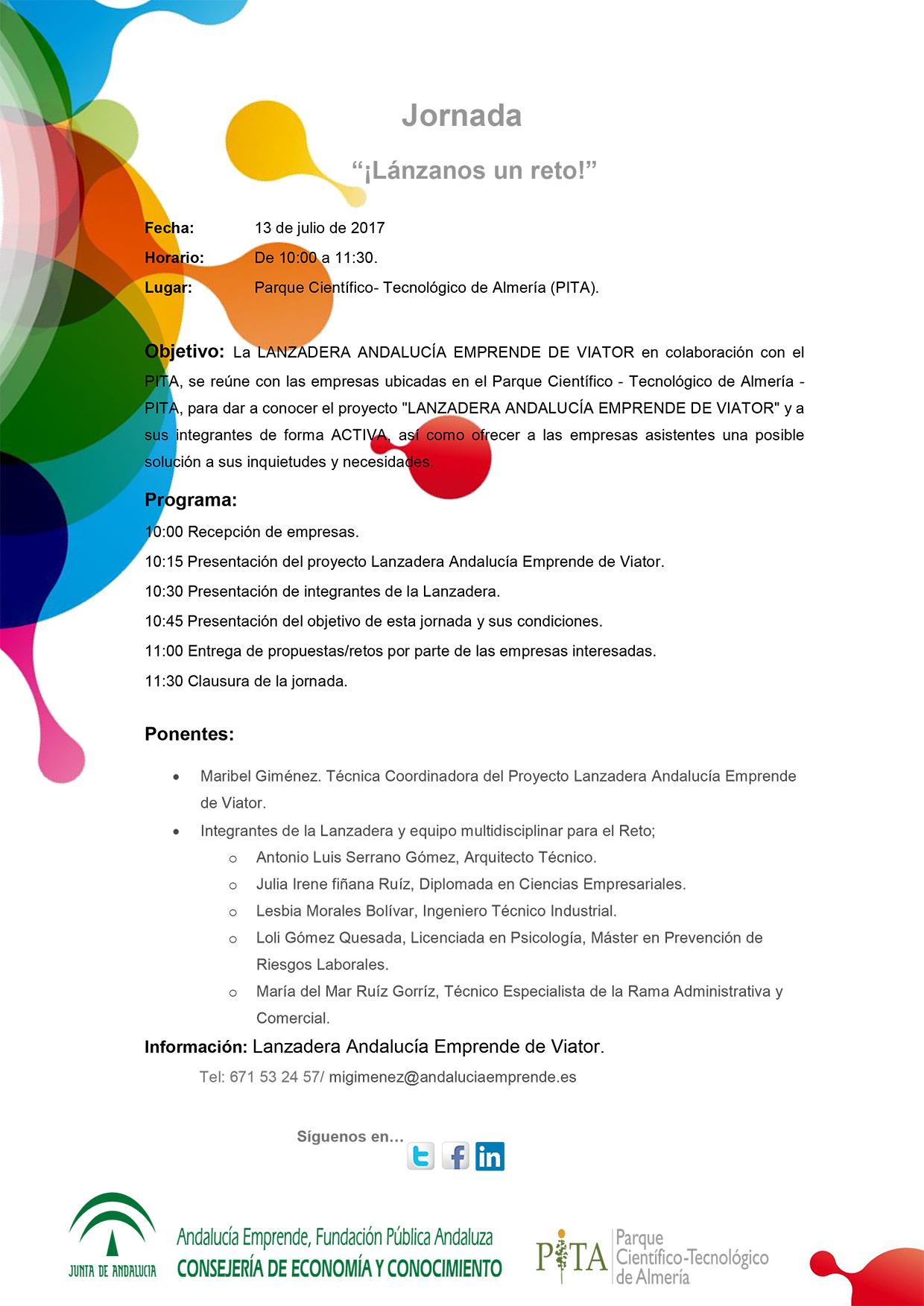 Jornada Lanzadera Empleo PITA