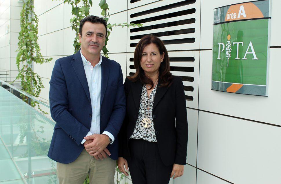 Antonio Domene y Trinidad Cabeo, nueva directora general del PITA_web
