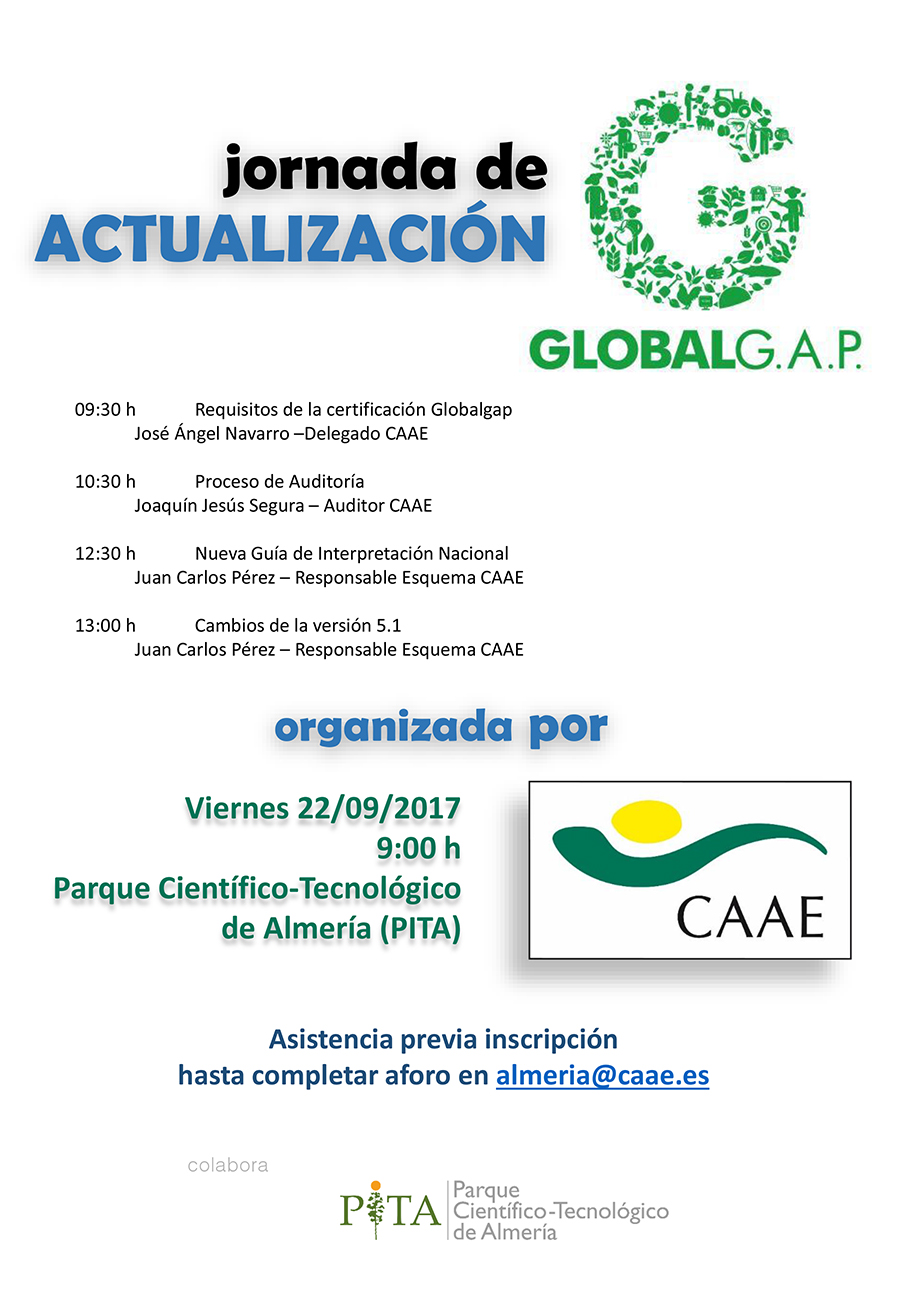 Jornada Global Gap CAAE PITA