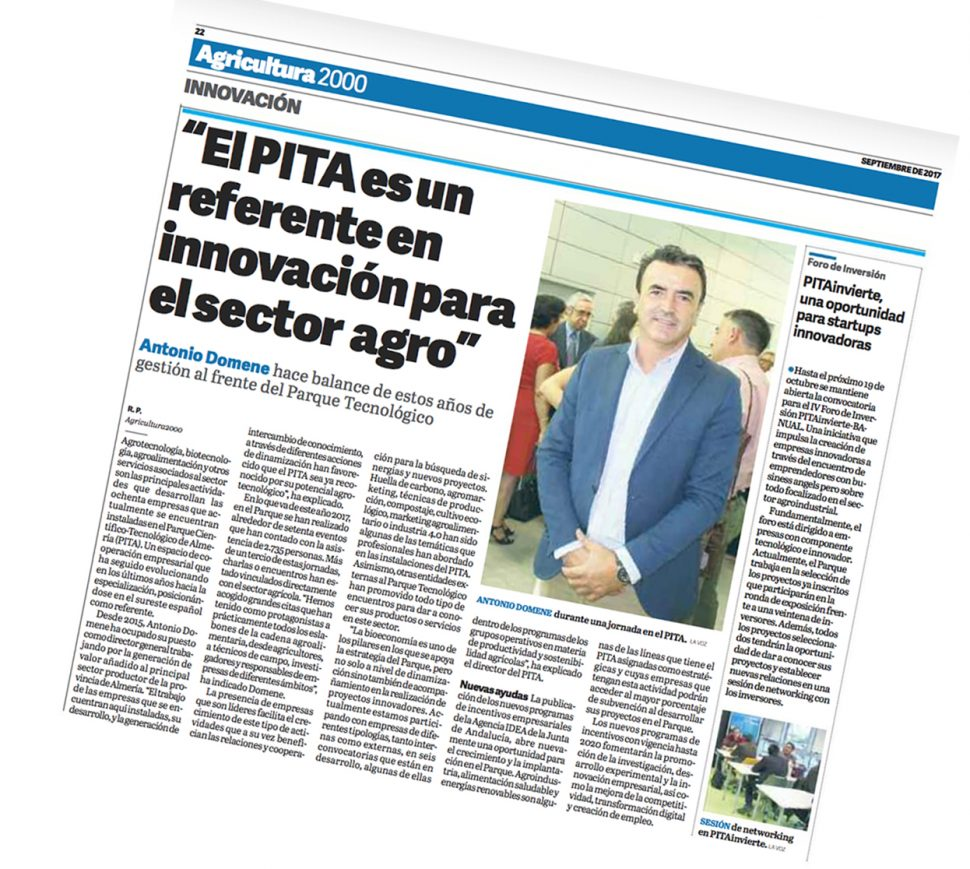 Publicacion Agricultura2000 Septiembre