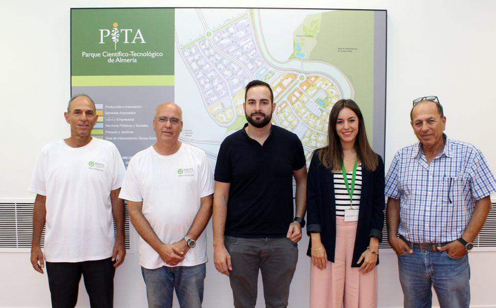 La empresa israelí Roots visita el PITA y mantiene encuentros con empresas del entorno más cercano